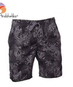Andzhelika Swimwear Men Swim Shorts Swimming Print Trunks Surf Beach Sport home Suit Men Trunks Swimsuit AK3717 1