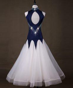 Turtle Neck Modern Dance Big Swing New Style Standard Dance Dresses Waltz Dress Ballroom smooth dresses 1