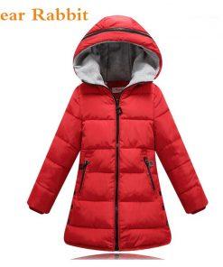 2018 spring Winter jacket for girls clothes Cotton Padded Hooded Kids Coat Children clothing girl Parkas enfant Jackets & Coats