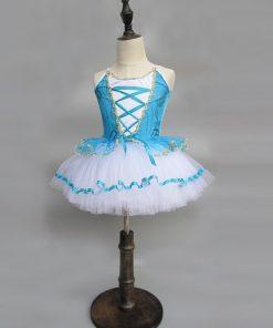 Children Strap Giselle Ballerina Dress For Kids Gymnastic Clothes for GirlsBallet Infantil Menina Costume Danse Enfant