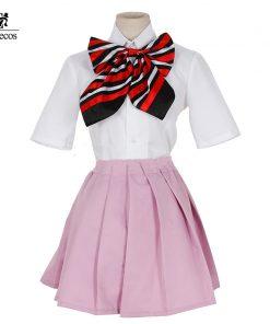 Custom Size Anime Blue Exorcist Ao no Exorcist Cosplay Shiemi Moriyama Costume Anime School Uniform Cosplay