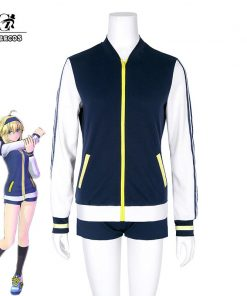 ROLECOS Fate EXTELLA LINK Cosplay Artoria Pendragon Cosplay Costume Knight Gym Uniform Game Cosplay Saber Stay Night Women Sport