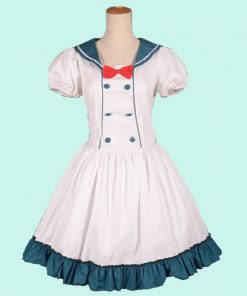 New Hot Halloween Sexy Costumes Womens Adult Hatsune Miku Costume Suit Maids Lolita Fancy Dress Cosplay Costume for Women Girl 1