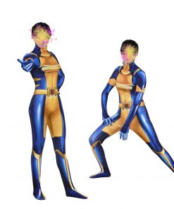 Movie X-Men X-23 Wolverine Cosplay Costumes Laura Kinney Women 3D Printing lycra Spandex Zentai Bodysuit Jumpsuits 1
