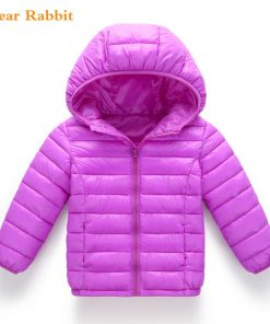 2018 new Spring Children Coat Autumn Kids Jacket Boys Outerwear enfant Coats Baby Clothes girls Lightweight down cotton Clothing 1