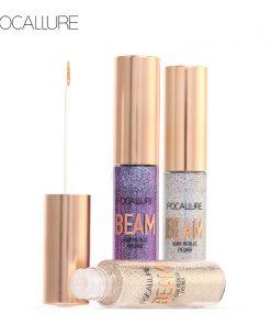 FOCALLURE New Arrivel 5 Colors Glitter Eyeliner Eyeshadow For Easy to Wear Waterproof Liquid Eyeliner Beauty Eye Liner Makeup