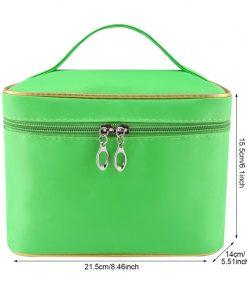 Mihawk Barrel-Shaped Make Up Bags Beauty Case Cosmetic Gadget Makeup Storage Zipper Pouch Women Toiletry Organizer Supplies Gear 1