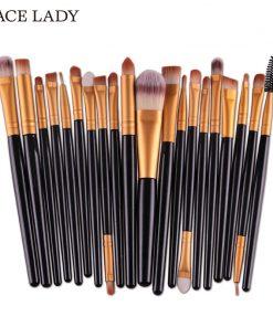 SACE LADY Make up Brushes Set 20Pcs Foundation Eyebrow Brush Kit Eyeshadow Eyeliner Powder Makeup Tool Eyelash Lip Cosmetic 1
