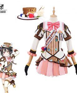 ROLECOS Lovelive Anime Cosplay Costume All Character Ice Cream Game Cosplay Love Live Costume Honoka Rin Halloween Women Dress 1