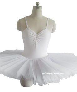 Professional Ballet Tutus Swan lake ballet Costumes Adult Organza Sling Conjoined TUTU skirt 1