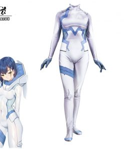 ROLECOS DFXX 015 CHIGOI Cosplay Jumpsuit DARLING in the FRANXX Cosplay Costume Fighting  Women White Costume
