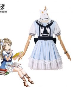 ROLECOS Lovelive Pirate Cosplay Costume All Character Love Live Cosplay School Idol Project Costume Eli Rin Kotori Honka Nico 1