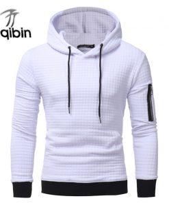 2018 New High-End Casual Hoodie Men'S Fashion Unique Korean Style Long-Sleeved Sweatshirt 3XL Plus Size