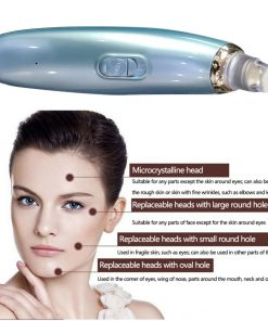 Newest Electric Face Pore Cleaner Acne Comedo Vacuum Suction Blackhead Remover Facial Skin Care Cleaning Beauty Machine 2 color  1