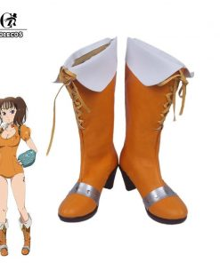 ROLECOS Diane Cosplay Shoes The Seven Deadly Sins Anime Cosplay Shoes Serpent's Sin Women Diane Boots COS Custom Size Made