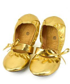 New Gum Outsole Belly Dance Shoes Girls Adult Women Ballet Bellydance Soft Sole Flat Shoes 1