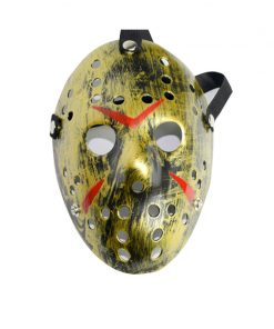 Jason vs Friday Cosplay Killer Mask Halloween Carnival Party Scary Horror Masquerade The 13th Horror Hockey Masks Unisex Adult 1