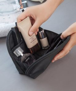 Casual Travel function Cosmetic Bag Women Zipper Small Makeup Case Organizer Storage Pouch Toiletry Make Up Beauty Wash Kit Box 1