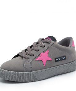 MCCKLE Autumn Women Sneaskers Plus Size Platform Flat Shoe Star Vulcanized Shoes Lace Up Female Casual Fashion Canvas Flats 1