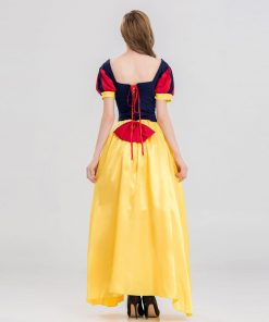 Snow White Dress Halloween Cosplay Costume Women Sexy Fantasias Adult Princess Disguise Long Dress Stage Performance Party Fancy 1