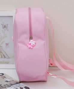 Fashion Children Dance Bag Girls Princess Cute Ballet Pink Backpack Care Package with bow 1