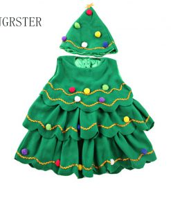 DJGRSTER Free shipping fancy dress, pretty princess Kids Girl's Christmas tree clothesStage costumes,Child Christmas costumes, f 1
