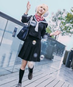 ROLECOS Game Fate EXTELLA LINK Cosplay Nero Claudius Cosplay Costume Winter Rome Costume Japanese School Uniform for Girl Anime 1