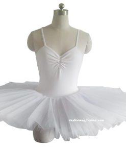 Professional Ballet Tutus Swan lake ballet Costumes Adult Organza Sling Conjoined TUTU skirt