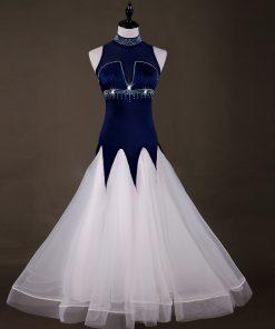Turtle Neck Modern Dance Big Swing New Style Standard Dance Dresses Waltz Dress Ballroom smooth dresses