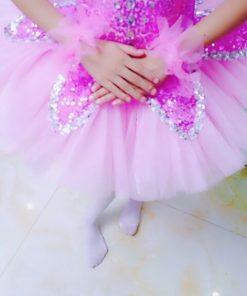 Sequins Ballet Tutu Child Swan Lake Ballet Costumes Rhinestone Ballerina Dress Kids Ballet Tutu Skirt Dance Clothes Children 1