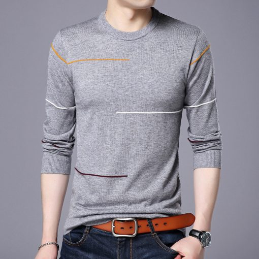 Brand Sweater Men 2018 New Spring Casual O-Neck Sweaters Male High Quality Pullover Mens M-3XL 2