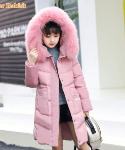 -30 degree Children Russia Winter Jacket For Girls Thick Duck Down Jacket Kids Outerwears Warm Coat parka real fur girl clothes