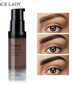 SACE LADY Henna Eyebrow Dye Gel Waterproof Makeup Shadow For Eye Brow Wax Long Lasting Tint Shade Make Up Paint Pomade Cosmetic