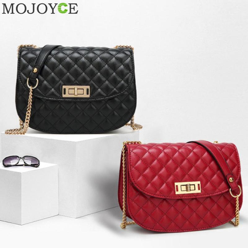 Luxury Handbags Women Bags Designer Vintage Chain Shoulder Evening Clutch Bag PU Leather Messenger Crossbody Bags For Women 2018 1