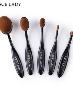 SACE LADY Makeup Brushes Set Foundation Toothbrush Highlighter Brush Kit Eyeshadow Eyeliner Powder Make Up Brand Tool Cosmetic