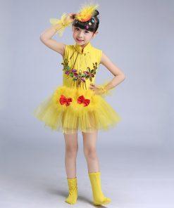 2018 Girls Ballet Dress For Children Dance Costume Gymnastics Leotard Dance Tutu Dress Dancewear Kids Child Ballet Tutu Dresses