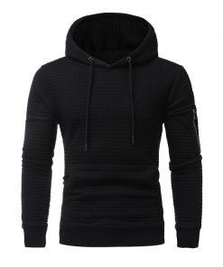 2018 New High-End Casual Hoodie Men'S Fashion Unique Korean Style Long-Sleeved Sweatshirt 3XL Plus Size 1