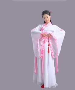 DJGRSTER Ancient Chinese Costume Chinese Traditional Hanfu Women Qing Dynasty Costume National Chinese Dance Costumes Women
