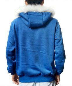 Sans Costume Undertale Cosplay Blue Hoodie Skeleton Brother Coat Men Adult Warm Thick Top Winter Zipper Long Sleeve Sweatshirt 1