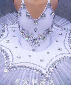New Girls Pancake tutus Dance Costumes Child Professional Platter tutu Ballet Dress 1