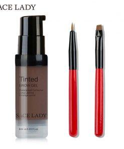 SACE LADY Henna Eyebrow Dye Gel Waterproof Makeup Shadow For Eye Brow Wax Long Lasting Tint Shade Make Up Paint Pomade Cosmetic 1