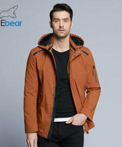 ICEbear 2018 Casual Autumn Business Men's Jacket Short Overcoat Hoodie Tops Man Coat Spring Fashion Brand Men Coats MWC18040D