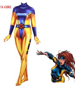 X-Men Phoenix Cosplay Costumes Jean Grey-Summers Women lycra Spandex Zentai Exquisite Jumpsuits Bodysuit Suits