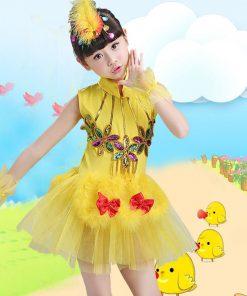 2018 Girls Ballet Dress For Children Dance Costume Gymnastics Leotard Dance Tutu Dress Dancewear Kids Child Ballet Tutu Dresses  1