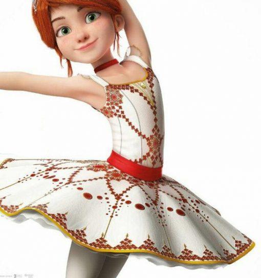 New Children Ballerina Tutu Dress Strap Pancake Tutus Child Classical Dancing Dress Girl Halloween Party Performance Costume Wea 5