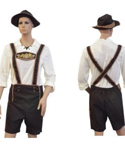DJGRSTER  Halloween Men's Clothing Adult Hansell Munich Beer Festival, German Bavaria beer cosplay costume Halloween Costumes 1