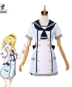 ROLECOS Lovelive Pirate Cosplay Costume All Character Love Live Cosplay School Idol Project Costume Eli Rin Kotori Honka Nico