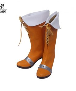 ROLECOS Diane Cosplay Shoes The Seven Deadly Sins Anime Cosplay Shoes Serpent's Sin Women Diane Boots COS Custom Size Made 1