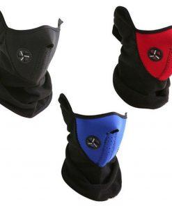 Neck Warm Half Face Mask Winter Sport Mask Windproof Bike Bicycle Cycling Mask Skiing Bibs Ski Snowboard Outdoor Masks Dust  1