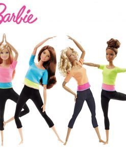Original Barbie Doll Yoga Gymnas Music American Girl Dolls Joints Movement Style Toys For Children The Girl A Birthday Bonecas 1